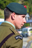 Ημέρα Anzac - πολεμικό επιμνημόσυνη δέηση Στοκ Εικόνα