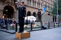 ημέρα anzac του 2012 Στοκ εικόνα με δικαίωμα ελεύθερης χρήσης