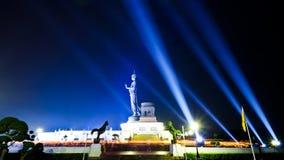 Ημέρα Bucha Makha στην Ταϊλάνδη. Στοκ εικόνα με δικαίωμα ελεύθερης χρήσης