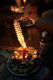 Ημέρα Phcum ben ή buddish ημέρα στην Καμπότζη Στοκ εικόνες με δικαίωμα ελεύθερης χρήσης