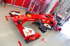 Ημέρες αγώνα Ferrari Στοκ φωτογραφίες με δικαίωμα ελεύθερης χρήσης