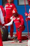 Ημέρες αγώνα Ferrari Στοκ Φωτογραφία