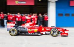 Ημέρες αγώνα Ferrari Στοκ φωτογραφία με δικαίωμα ελεύθερης χρήσης