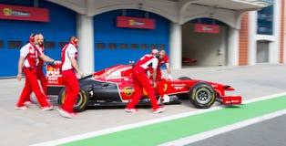 Ημέρες αγώνα Ferrari Στοκ Φωτογραφίες