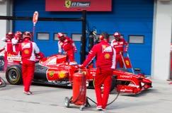 Ημέρες αγώνα Ferrari Στοκ Εικόνες