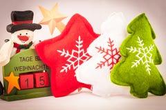 15 ημέρες στα Χριστούγεννα Στοκ Εικόνες