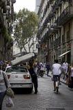 Ημέρες στη Βαρκελώνη, Ισπανία στοκ φωτογραφία με δικαίωμα ελεύθερης χρήσης