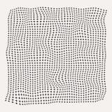 Ημίτοά κύματα συν το σχέδιο συμβόλων στο παλαιό άσπρο υπόβαθρο, roug Στοκ Φωτογραφίες