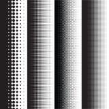 Ημίτοές κλίσεις σχεδίων σημείων με το σχήμα Στοκ Εικόνες