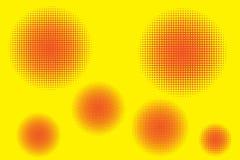Ημίτοή εξαφάνιση κύκλων Αφηρημένο άνευ ραφής στρογγυλό σχέδιο Σχέδιο κλίσης Σημειωματάρια δώρων τυλίγοντας εγγράφου απεικόνιση αποθεμάτων
