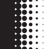 Ημίτοή κλίση σχεδίων σημείων με το σχήμα διανυσματική απεικόνιση