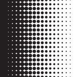 Ημίτοή κλίση σχεδίων σημείων με το σχήμα Στοκ Φωτογραφία