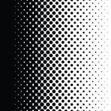 Ημίτοή κλίση σχεδίων σημείων με το σχήμα Στοκ Εικόνες