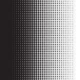 Ημίτοή κλίση σχεδίων σημείων με το σχήμα ελεύθερη απεικόνιση δικαιώματος