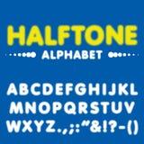 Ημίτονος χαρακτήρας πηγών αλφάβητου με το διανυσματικό σχήμα Στοκ Φωτογραφίες