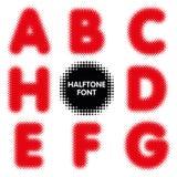 Ημίτονος χαρακτήρας πηγών αλφάβητου με το διανυσματικό σχήμα Στοκ φωτογραφία με δικαίωμα ελεύθερης χρήσης