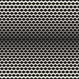 Ημίτονο άνευ ραφής σχέδιο, διανυσματική σύσταση πλέγματος με βαθμιαία το πάχος Στοκ φωτογραφίες με δικαίωμα ελεύθερης χρήσης