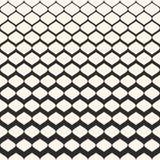 Ημίτονο άνευ ραφής σχέδιο, σύσταση πλέγματος με βαθμιαία το πάχος διανυσματική απεικόνιση