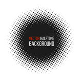 Ημίτονο διαστιγμένο διανυσματικό αφηρημένο υπόβαθρο, σχέδιο σημείων στη μορφή κύκλων Μαύρο κωμικό άσπρο σκηνικό εμβλημάτων διανυσματική απεικόνιση