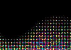 ημίτονο πολύχρωμο κύμα Στοκ φωτογραφία με δικαίωμα ελεύθερης χρήσης