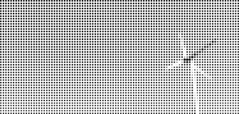 Ημίτονο σημείο γραφικό του ανεμόμυλου Στοκ Εικόνες