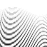 Ημίτονο υπόβαθρο 01 γραμμών Στοκ Εικόνα