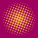 Ημίτονο υπόβαθρο κύκλων, ημίτονο σχέδιο σημείων Στοκ φωτογραφίες με δικαίωμα ελεύθερης χρήσης