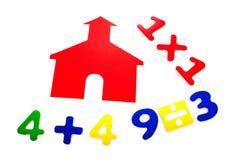 ημερήσιο math σχολείο στοκ εικόνες με δικαίωμα ελεύθερης χρήσης