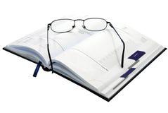 ημερολογιακά γυαλιά Στοκ Εικόνες