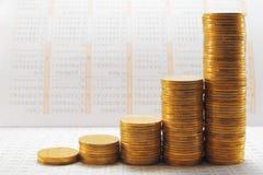ημερολογιακά νομίσματα στοκ φωτογραφία