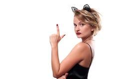 ημερολογιακής έννοιας ημερομηνίας ο απαίσιος μικροσκοπικός θεριστής εκμετάλλευσης αποκριών ευτυχής λέει τη στάση δρεπανιών Γυναίκ Στοκ φωτογραφίες με δικαίωμα ελεύθερης χρήσης