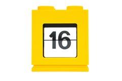 ημερολογιακή ημερομηνία Στοκ Φωτογραφία