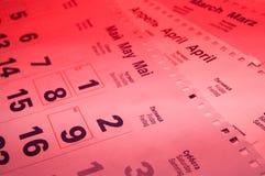 ημερολόγια Στοκ φωτογραφία με δικαίωμα ελεύθερης χρήσης