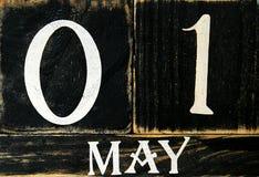 ημερολόγιο αναδρομικό Στοκ Εικόνες