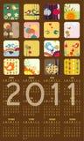 Ημερολόγιο για το 2011 Στοκ φωτογραφίες με δικαίωμα ελεύθερης χρήσης