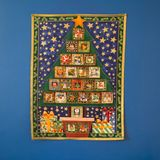 Ημερολόγιο εμφάνισης, που περιμένει τη Χαρούμενα Χριστούγεννα διακοπών στοκ φωτογραφίες