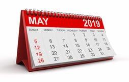Ημερολόγιο - μπορέστε το 2019 ελεύθερη απεικόνιση δικαιώματος