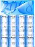 ημερολόγιο του 2008 διανυσματική απεικόνιση
