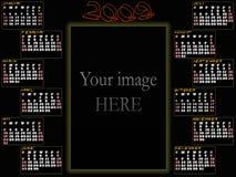 ημερολόγιο του 2009 Στοκ εικόνα με δικαίωμα ελεύθερης χρήσης