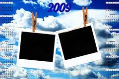 ημερολόγιο του 2009 Στοκ φωτογραφίες με δικαίωμα ελεύθερης χρήσης