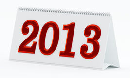 ημερολόγιο του 2013 Στοκ Φωτογραφίες