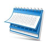 ημερολόγιο διανυσματική απεικόνιση