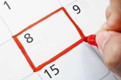 Ημερολόγιο Στοκ εικόνες με δικαίωμα ελεύθερης χρήσης