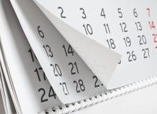 Ημερολόγιο Στοκ φωτογραφίες με δικαίωμα ελεύθερης χρήσης