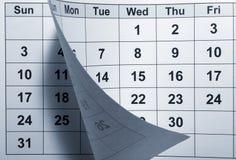 ημερολόγιο Στοκ Εικόνες