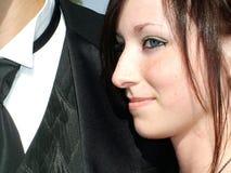 ημερομηνία prom Στοκ φωτογραφίες με δικαίωμα ελεύθερης χρήσης