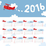 Ημερολογιακά παιδιά έτους απεικόνιση αποθεμάτων