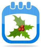 Ημερολογιακά Χριστούγεννα 2 εικονιδίων Στοκ εικόνα με δικαίωμα ελεύθερης χρήσης
