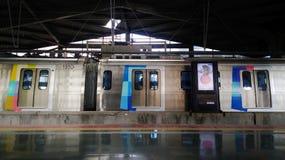 Ημερολόγια μετρό Στοκ Φωτογραφίες