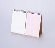 ημερολόγιο ή ημερολόγιο για το έτος του 2017 στο υπόβαθρο Στοκ Εικόνες